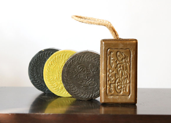 Olive Soap with Perfume (4 pieces)