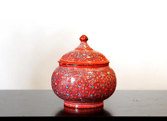 Iranian Brass Bowl