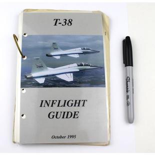 Jerry Ross' T-38 Inflight Guide