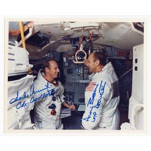Conrad & Bean Signed LM Training Glossy Photo