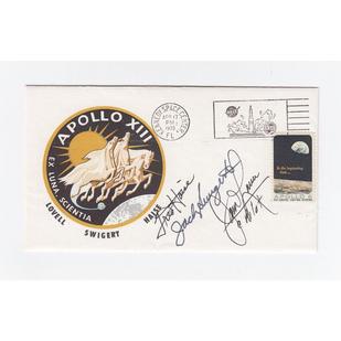 Apollo 13 Crew-Signed Cover