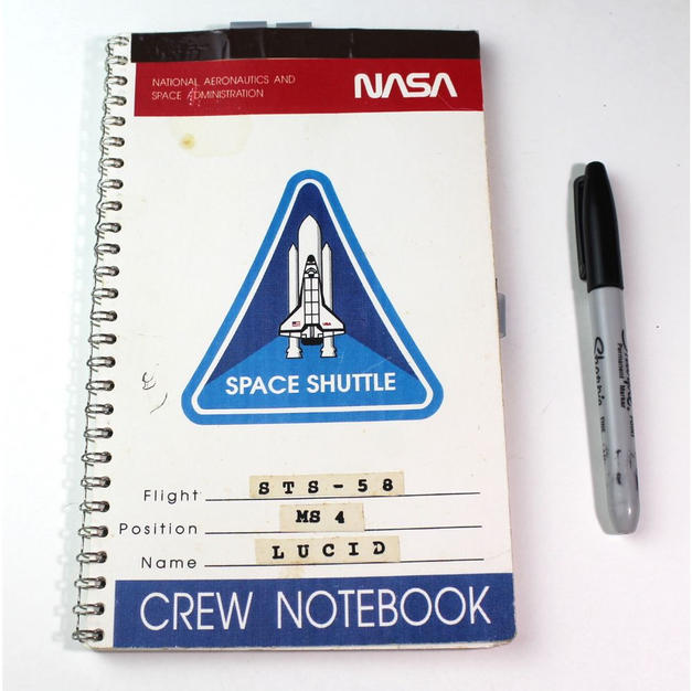 Lucid's Flown STS-58 Crew Notebook