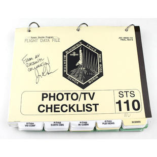 Ross' STS-110 Backup Photo/TV Checklist