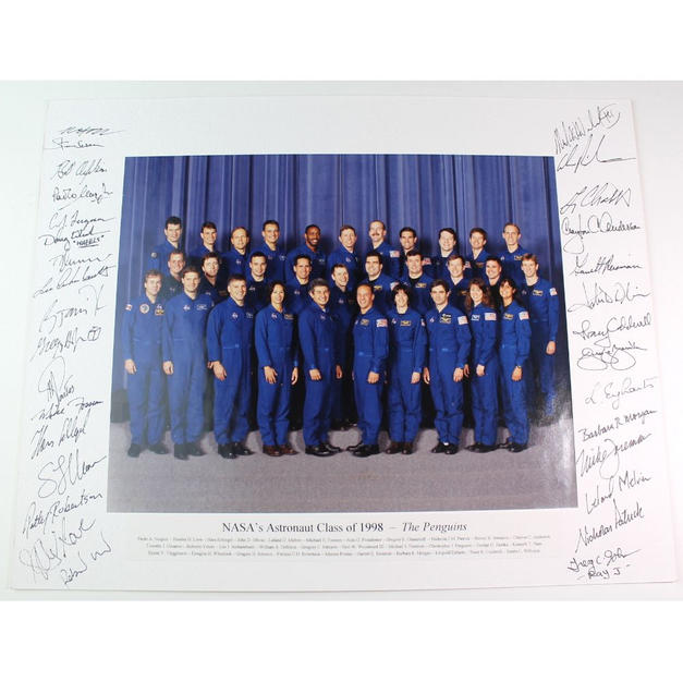 1998 Astronaut Group Signed Display