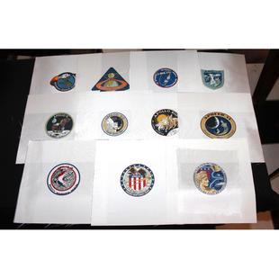 Full Set of 11 Apollo Mission Beta Cloth