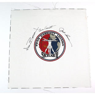 Skylab 3 Crew-Signed Beta Cloth Patch
