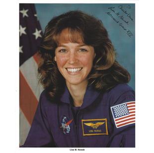 Lisa Nowak Signed NASA Litho