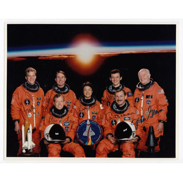 Ross' STS-95 Crew-Signed NASA Photo