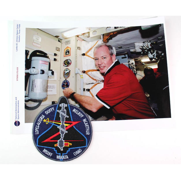 Duffy's Flown STS-92, ISS & TMA-9 Patch