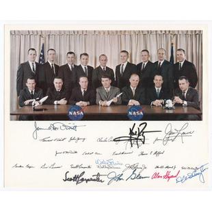 8 Signatures on Groups 1&2 NASA Litho