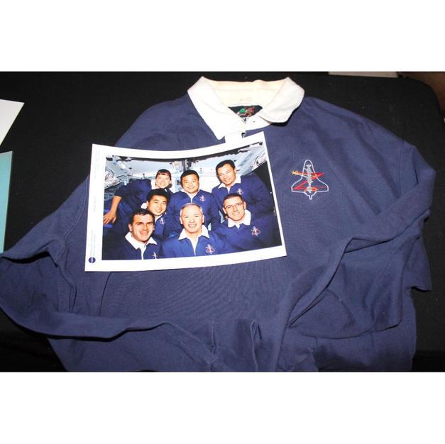Brian Duffy's Flown STS-92 Heavy Shirt