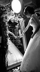 bride at booth.JPG