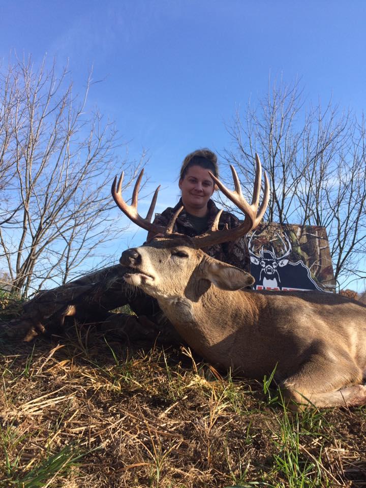 Amanda's 2016 Buck