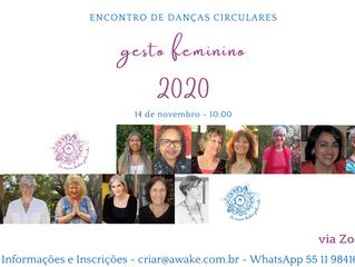 Gesto Feminino -Encontro de Danças Circulares