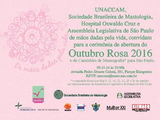 Outubro Amanhece Rosa