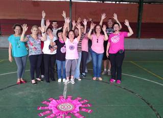 CECCO Vila Guarani  marca presença no Outubro Rosa 2016!