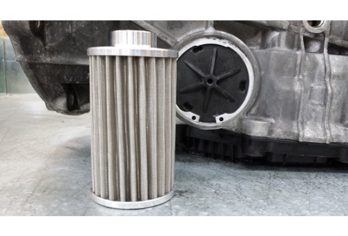 BMW Stainless Steel Transmission Lifetime Filter