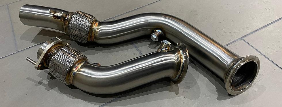 CATLESS TURBO DOWNPIPES - BMW 3 SERIES F80 M3 | 4 SERIES F82 | F83 M4