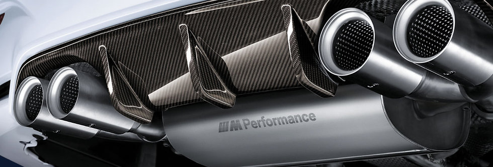 BMW M Performance exhaust system, titanium