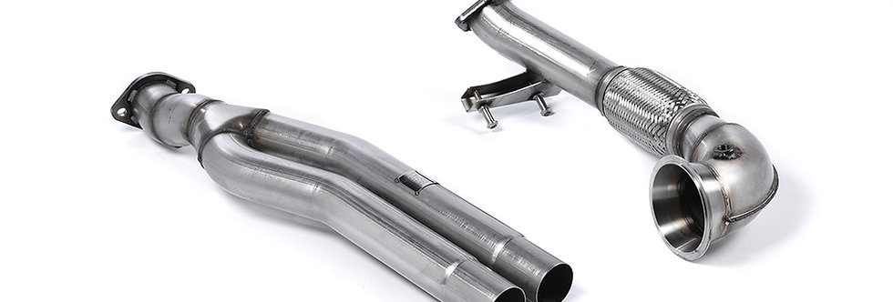 MILLTEK RS3 Sportback 8V  -Pre Face- Primary Catalyst Bypass Pipe & Turbo Elbow