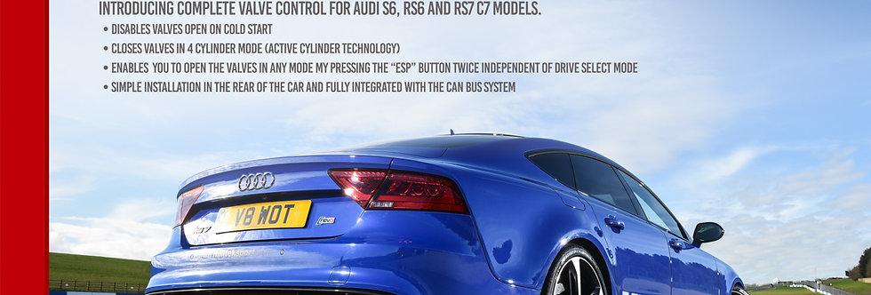 Audi RS6 C7 4.0 TFSI biturbo quattro Exhaust Active Valve Control