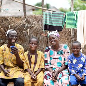 Hilfe für Strassenkinder in Ghana