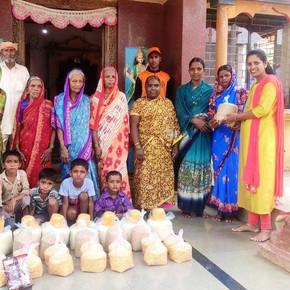 Corona-Nothilfe in Indien