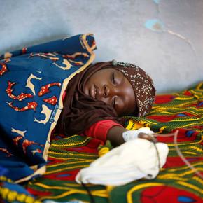 Medizinische Hilfe für Kinder in Burkina Faso