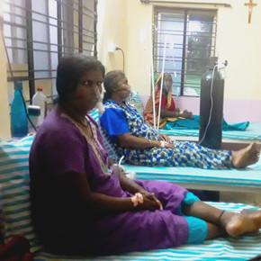 Sauerstoffversorgung für Patienten in Indien