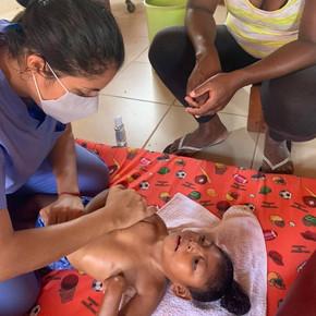 Frühförderung für behinderte Kinder in Nicaragua