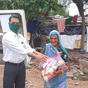 Direkthilfe für Bedürftige in Indien