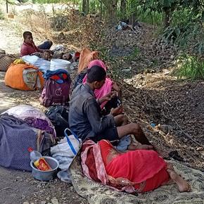 Hilfe für Wander-arbeiter in Indien