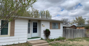 1604 N. Fairview Ave., Liberal, KS  $94,500.  3 bedroom, 2 bath