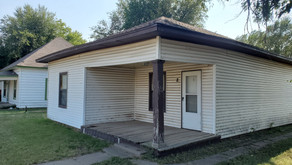 8 S. Pershing Ave., Liberal, KS    $66,000.  2 bedrooms, 1bath.