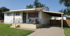 403 Beech St., Liberal, KS  $106,000.  4 bedrooms, 1 bath