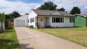 1108 W. 7th Street, Liberal, KS   $143,000.  3 bedrooms, 1 bath