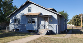 604 S. New York Ave., Liberal, KS  $68,500.  Duplex 2BR each side.