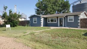 207 E. Wheeler St., Turpin, OK    $115,000.  3 bedrooms, 1 bath
