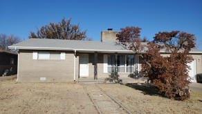 1100 S. Sherman Ave., Liberal, KS   $147,000.  3 bedrooms, 2 baths.