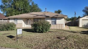 123 W. Pine Street, Liberal, KS    $105,000.  3 bedrooms, 1 bath