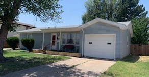920 N Tulane Ave., Liberal, KS  $115,000.  4 bedroom, 2 bath