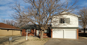 1640 N. Calhoun Ave., Liberal, KS   $149,000.  4 bedroom, 3 bath