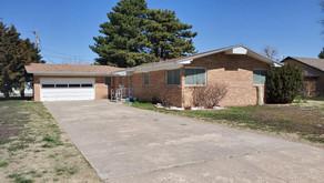 1109 Elm Blvd., Liberal, KS   $120,000.   3 bedrooms, 2 baths