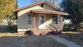 201 S. New York Ave., Liberal, KS   $48,500.  3 bedrooms, 1 bath