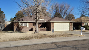 1141 N. Holly Dr., Liberal, KS   $134,500.  3 bedroom 2 bath