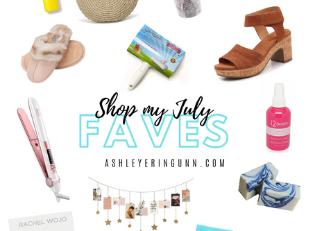 My Faves: JULY 2020