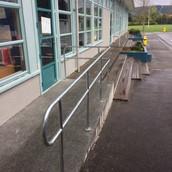 Galvanised Steel Handrail