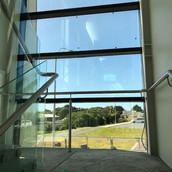 Stainless Steel Handrail on Stair