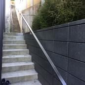 Stainless Steel Flat Handrail