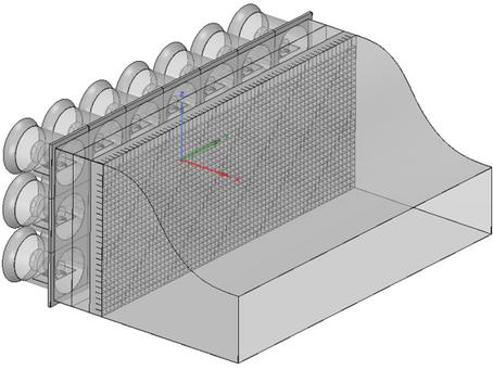 해양에너지 발전장치 성능검증을 위한 3차원바람발생장치 설계 과제 완료